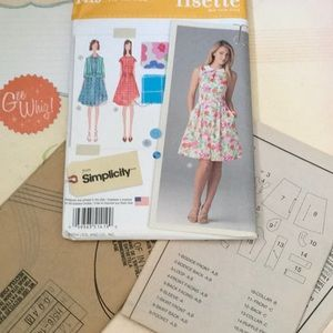 NWT Simplicity 1419 by Lisette dress and jacket